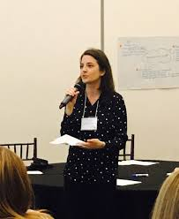 """Eimear Enright on Twitter: """"Faith Kirk #studentsaspartners  Faculty-in-residence speaking about her role in translating the philosophy  into practice #ISaPI18 #sjsu… https://t.co/wW8PzE7U9C"""""""