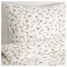 ikea ljusÖga quilt cover and 4 pillowcases cotton feels soft and nice against your skin