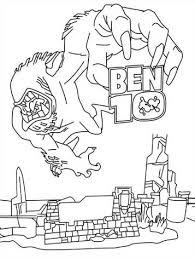 Kids N Fun 27 Kleurplaten Van Ben 10
