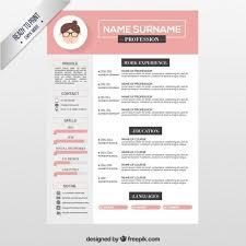 Creative Resume Ideas Best Of Mod Le De Cv Rose Pour Eux Com