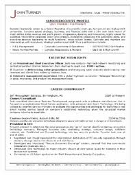 Brilliant Ideas of C Level Resume Samples For Reference