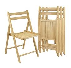wooden folding chairs. Delighful Wooden Winsome Wood Folding Chairs Natural Finish Set Of 4 For Wooden Chairs Amazoncom