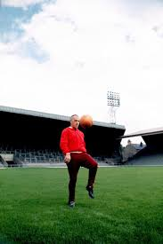 17 best images about sporting heroes sport football bill shankly shows off his ball skills at anfield in 1973 lfc history