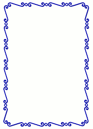 Small Picture Simple Line Border Clipart