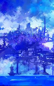 anime, cyberpunk, artwork, iphone ...