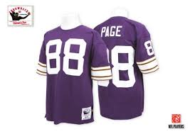 Throwback Authentic For Jersey Sale Alan 88 Page Vikings Team Color Football Minnesota Purple
