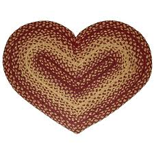 vintage star jute braided rugs hover to zoom