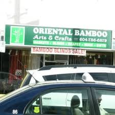 photo of oriental bamboo arts crafts vancouver bc canada