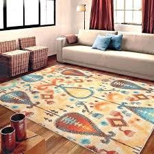 large floor rugs bunnings rug 5 x 7 area carpet southwestern new hand tufted aqua wool