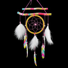 Beautiful Dream Catcher Images Beautiful Dream Catcher hand woven colored drawing feather 92