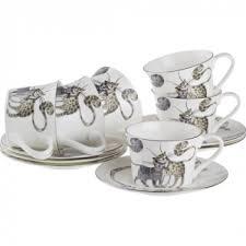 Купить <b>Чайный набор Lefard</b>, <b>Котики</b>, 12 предметов