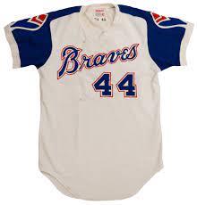 1974 Hank Aaron Atlanta Braves Game ...