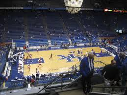 Rupp Arena Seating Chart Section 231 Rupp Arena Section 232 Kentucky Basketball Rateyourseats Com