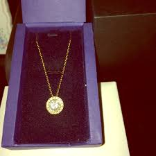 swarovski angelic pendant necklace gold plated m 53f224f40b47d3711b266764
