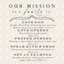 my vision statement sample family mission statements family pinterest family mission