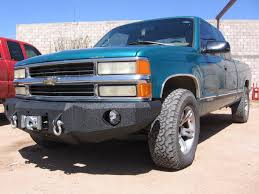 All Chevy 99 chevy 3500 : 1988-1999 Chevrolet 2500/3500 Front Base Bumper – Iron Bull Bumpers