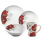 tesco christmas dining set. price and kensington posy 16 piece dinner set tesco christmas dining