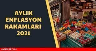 Nisan ayı enflasyon 2021 rakamları açıklandı! 2021 aylık enflasyon oranları  nedir? - Haberler