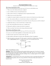 Business Letters Class 11 Sample Format For Writing A Letter