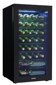 danby 36 bottles storage wine cooler dwc032a2bdb