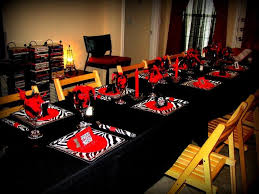 My LBD (Little Black Dress) Themed 21st Birthday Party! My mommy did it all  just for me! PS... All plates (salad and dinner), napkins, & napkin rings  ARE ...