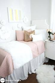 rose gold bedding set blush pink fur rose gold teen girl bedding set intended for inspiring