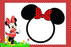 Click To Create This Invitation Red Minnie Mouse Birthday
