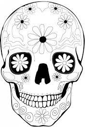 Dia de los muertos for kids! Dia De Los Muertos Day Of The Dead Kids Coloring Pages