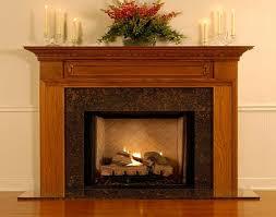 Best Fireplace Mantel Dcor : Modern Wood Fireplace Mantel Decor