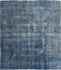4715 overdyed vintage rug 296x293cm
