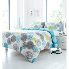 teal quilt set print green turquoise