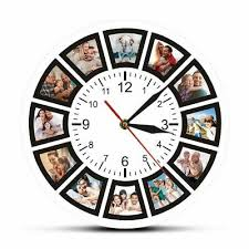 photo printed art clocks watch