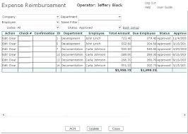 Reimbursement Sheet Template Employee Expense Reimbursement Template