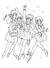 Small Picture Coloring Page Sailormoon coloring pages 83 coloring pages