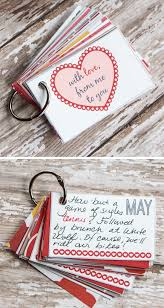 12 months of pre planned date nights gift cards craft a collection of 12