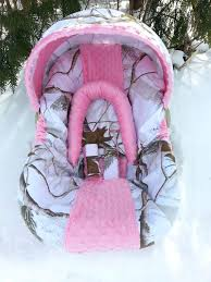 car seats realtree car seats infant seat cover snow by baby camo covers for toddlers
