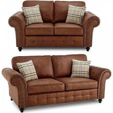 woodford tan suede 3 2 seater sofa set