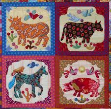 163 best KIM McLEAN QUILTS images on Pinterest | Quilt patterns ... & Glorious Applique: Pandemonium Quilt tutorial # pieced blocks & four  animals The Panedemonium Quilt by Kim Mclean is on my birthday present list  - tis just ... Adamdwight.com