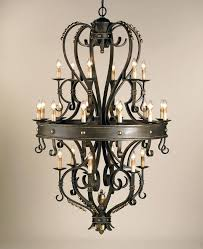 wrought iron foyer chandeliers wrought iron foyer lighting 6 light