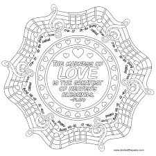 Small Picture Love quote mandala to color music quote words Words