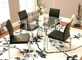 5 piece glass dining set small 5 piece dining set 5 piece glass dining set email