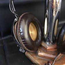 onkyo diamond headphones. 2 - stereo hi-fi headphones onkyo model ph 747 \u0026 gx sh-850 leather finishes diamond