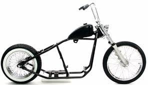 rigid hardtail springer bobber chopper rolling chassis frame