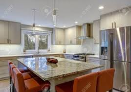 Wallpaper gorgeous kitchen lighting ideas modern Dining Gorgeous Kitchen Design Features Ivory Kitchen Cabinets Flanking Wayfair Hardwood Remodeling Modern White Kitchen With Wooden Doors And