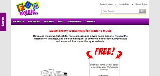 Middle School Band Maven: Music Theory Worksheets (free)