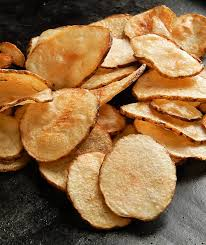 Guaranteed they won't last long! Best Homemade Potato Chips Frugal Hausfrau