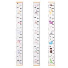 Us 2 28 40 Off Nordic Style Baby Child Kids Decorative Growth Charts Height Ruler Size Kid Growth Chart Height Measure Ruler Size For Room Home In