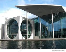 contemporary office buildings. Interior Architecture: A Modern Building Against Blue Sky Contemporary Office Buildings O