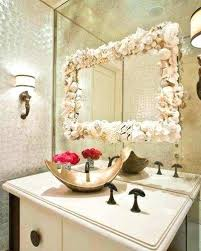 decorating bathroom mirrors decorating a wall with mirrors in frames beautiful how to decorate a bathroom mirror frame with decorate around large bathroom