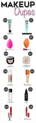 description best makeup dupes